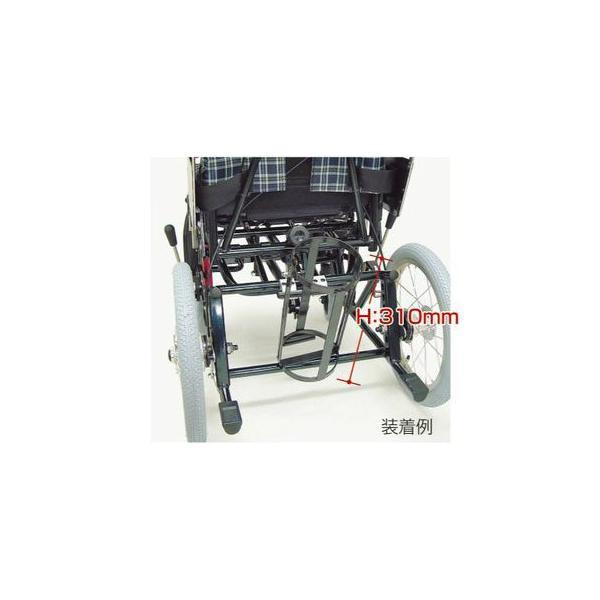 酸素ボンベ架台 KX専用:ボンベ外径130mm以下用 カワムラサイクル車椅子専用