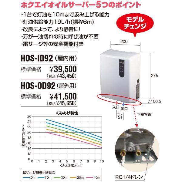 オイルサーバー 屋内外兼用 HOS-OD91 ホクエイ 即日出荷|himawaridensetsu|02