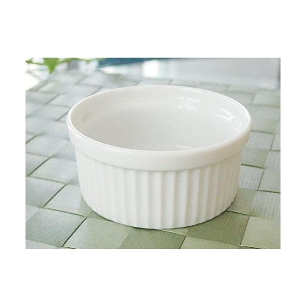 洋食器 アウトレット ココット 白い食器のスフレカップ 8cm デザート スイーツ ディップ プリン オシャレ|himetomaro