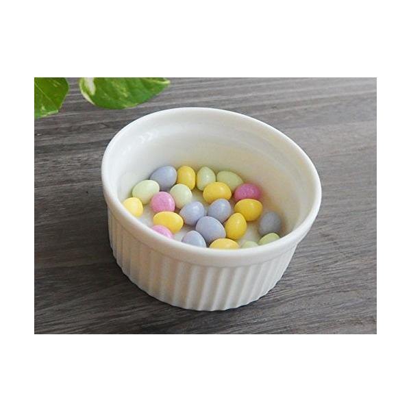 洋食器 アウトレット ココット 白い食器のスフレカップ 8cm デザート スイーツ ディップ プリン オシャレ|himetomaro|04