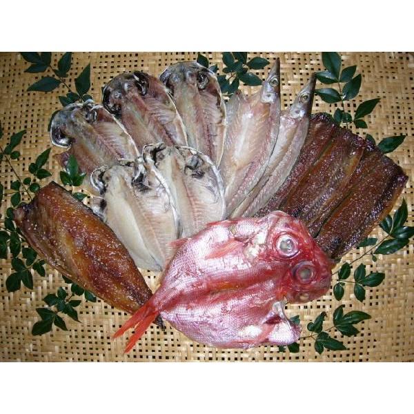 干物セット 干物 詰め合わせ ギフト 送料無料 真あじ かます えぼ鯛 さんましょう油干し さばしょう油干し 金目鯛