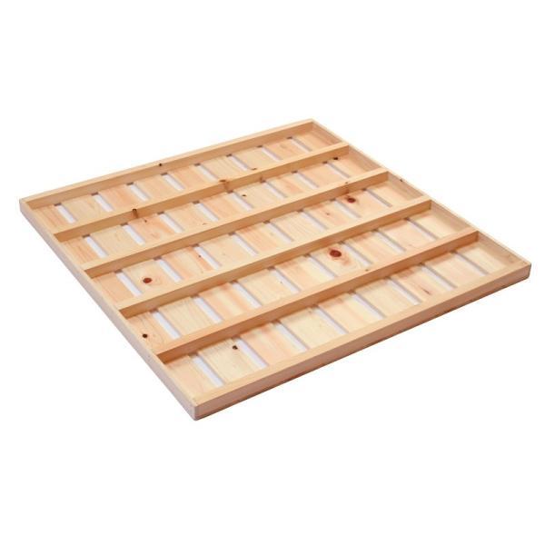 ベッド用すのこ 床板 交換用 2枚セット シングル 高さ4cm 底板 取り替え 取り換え|hinokiya-pro|02