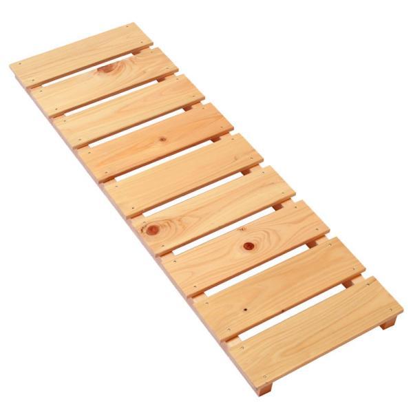 すのこ サイズ 90cm×30cm 国産ひのき板 DIY スノコ 桧 ヒノキ 檜 ベランダ 押入れ|hinokiya-pro|02