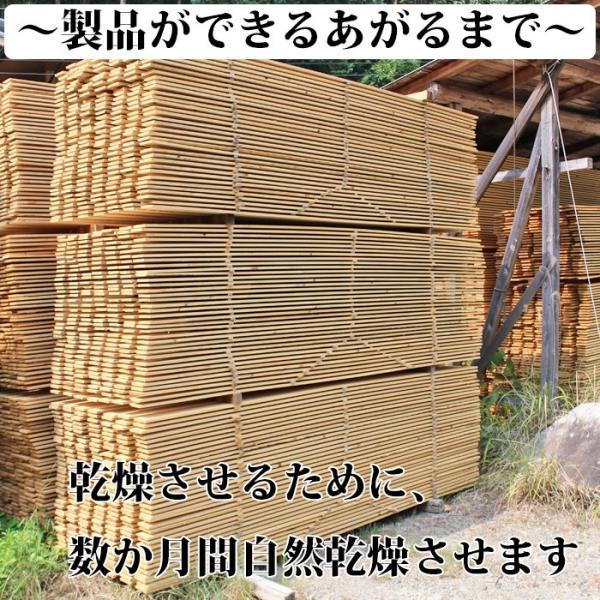 すのこ サイズ 90cm×30cm 国産ひのき板 DIY スノコ 桧 ヒノキ 檜 ベランダ 押入れ|hinokiya-pro|06