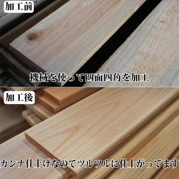 すのこ サイズ 90cm×30cm 国産ひのき板 DIY スノコ 桧 ヒノキ 檜 ベランダ 押入れ|hinokiya-pro|07
