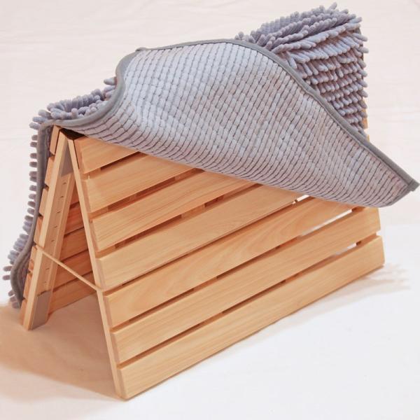 バスマットすのこ 国産ひのき 65cm×45cm お風呂マット 桧 ヒノキ 檜 スノコ 細板|hinokiya-pro|04