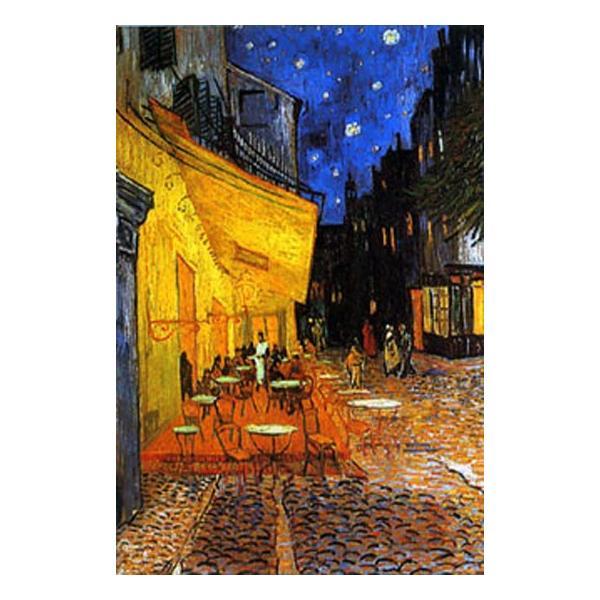 ゴッホ 夜のカフェテラス/アートポスター フレーム(額)なし|hinokiyashop