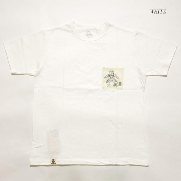 MOMOTARO JEANS (桃太郎ジーンズ)  Lot.07-067 8.2オンス メッシュポケット Tシャツ 07-067|hinoya-ameyoko|03