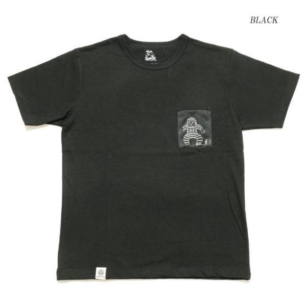 MOMOTARO JEANS (桃太郎ジーンズ)  Lot.07-067 8.2オンス メッシュポケット Tシャツ 07-067|hinoya-ameyoko|04