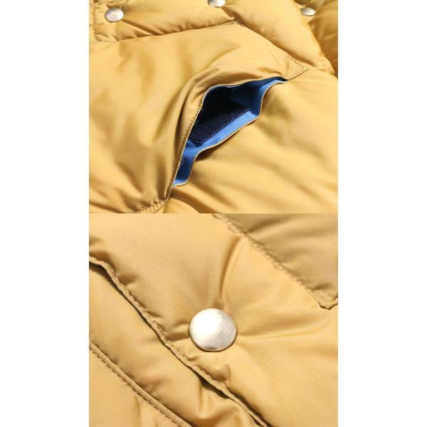 WAREHOUSE × Rocky Mountain Featherbed (ウエアハウス×ロッキーマウンテン フェザーベッド )  Lot. 290-192-03 ナイロンダウンベスト 2137RM-19|hinoya-ameyoko|07