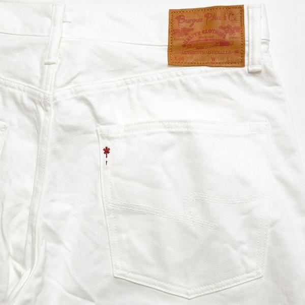 BURGUS PLUS(バーガスプラス) Lot.770 スタンダード セルヴィッジ ホワイトデニム 770-0001 hinoya-ameyoko 11