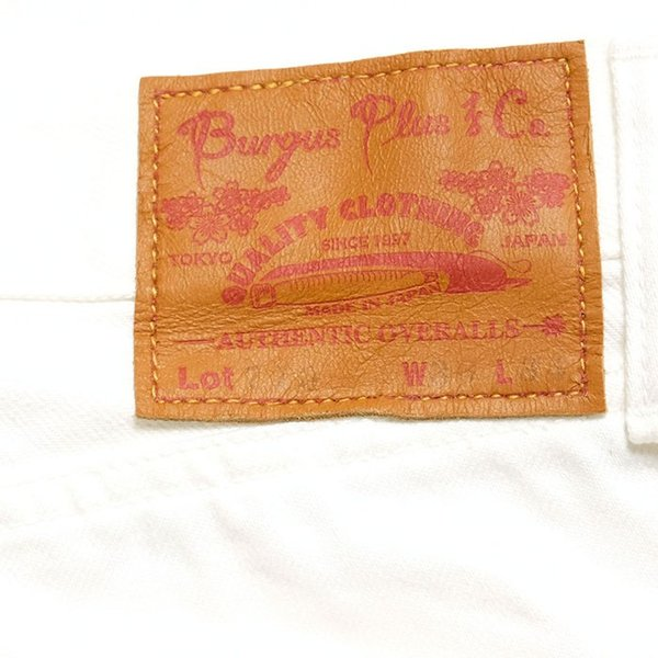BURGUS PLUS(バーガスプラス) Lot.770 スタンダード セルヴィッジ ホワイトデニム 770-0001 hinoya-ameyoko 13