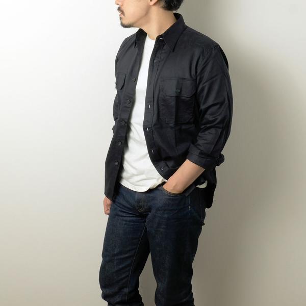 BURGUS PLUS(バーガスプラス) ミリタリーツイルシャツ BP16505|hinoya-ameyoko|03