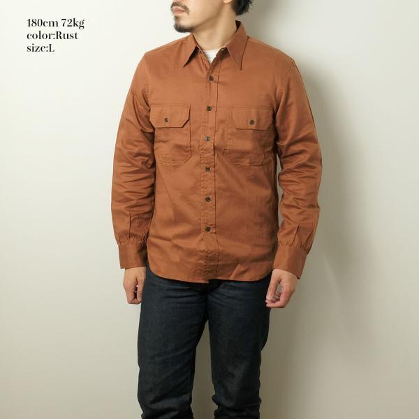 BURGUS PLUS(バーガスプラス) ミリタリーツイルシャツ BP16505|hinoya-ameyoko|05