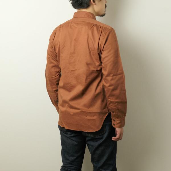 BURGUS PLUS(バーガスプラス) ミリタリーツイルシャツ BP16505|hinoya-ameyoko|06