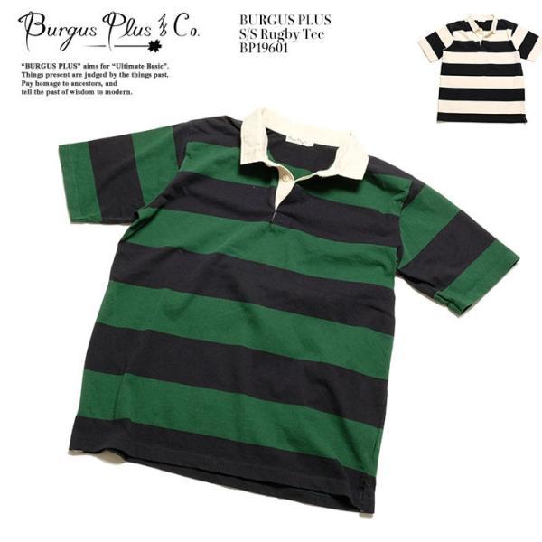 BURGUS PLUS ラグビー Tee BP19601|hinoya-ameyoko