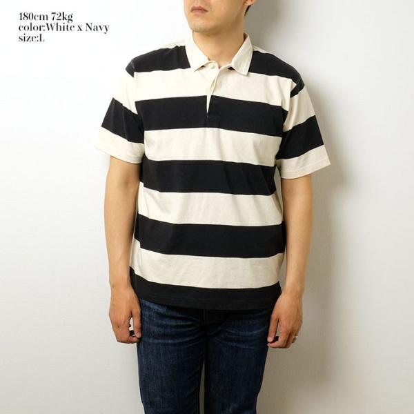 BURGUS PLUS ラグビー Tee BP19601|hinoya-ameyoko|02