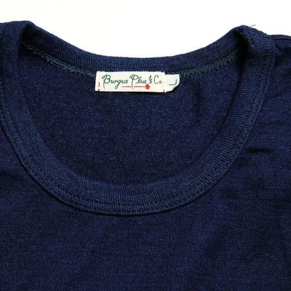 BURGUS PLUS バーガスプラス 半袖インディゴTシャツ ワンウォッシュ BP19602|hinoya-ameyoko|05