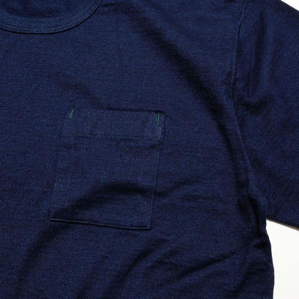 BURGUS PLUS バーガスプラス 半袖インディゴTシャツ ワンウォッシュ BP19602|hinoya-ameyoko|06
