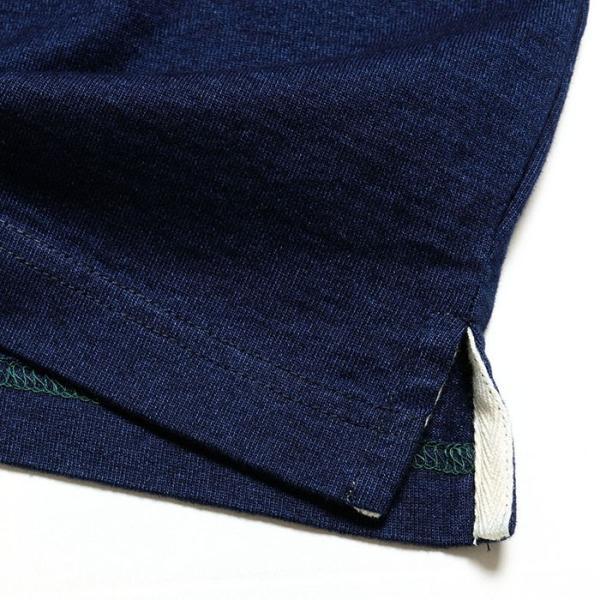 BURGUS PLUS バーガスプラス 半袖インディゴTシャツ ワンウォッシュ BP19602|hinoya-ameyoko|07