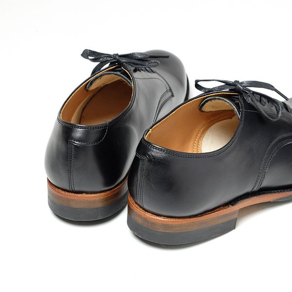 BUZZ RICKSON'S(バズリクソンズ) ウィリアム・ギブソンコレクション ブラック サービスシューズ BR02146 hinoya-ameyoko 04