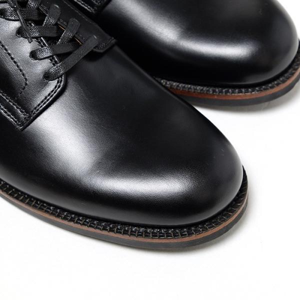BUZZ RICKSON'S(バズリクソンズ) ウィリアム・ギブソンコレクション ブラック サービスシューズ BR02146 hinoya-ameyoko 05