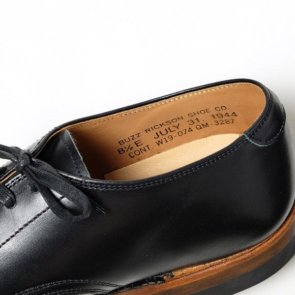 BUZZ RICKSON'S(バズリクソンズ) ウィリアム・ギブソンコレクション ブラック サービスシューズ BR02146|hinoya-ameyoko|07