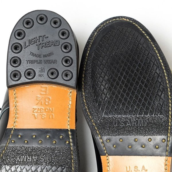 BUZZ RICKSON'S(バズリクソンズ) ウィリアム・ギブソンコレクション ブラック サービスシューズ BR02146 hinoya-ameyoko 08