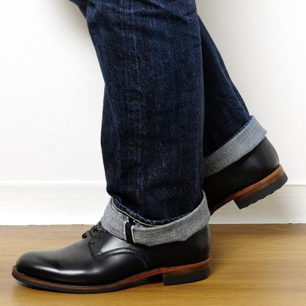 BUZZ RICKSON'S(バズリクソンズ) ウィリアム・ギブソンコレクション ブラック サービスシューズ BR02146|hinoya-ameyoko|10