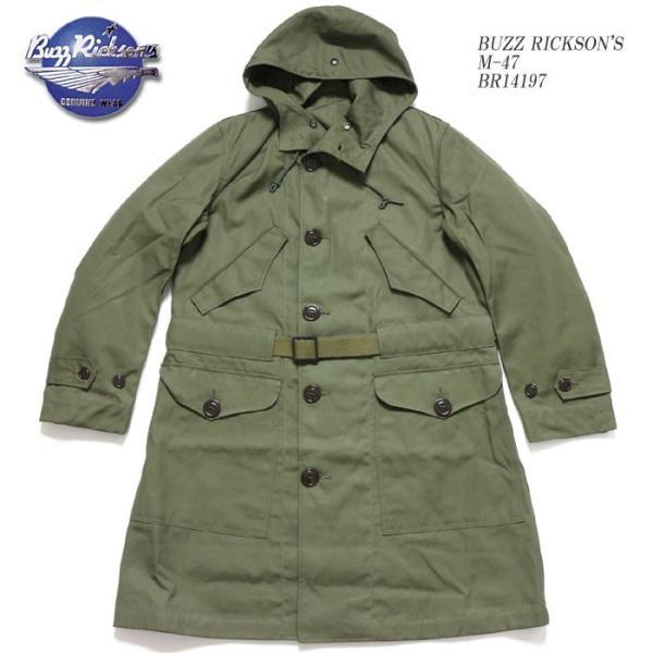 BUZZ RICKSON'S(バズリクソンズ) オーバーコート M-47 BR14197|hinoya-ameyoko