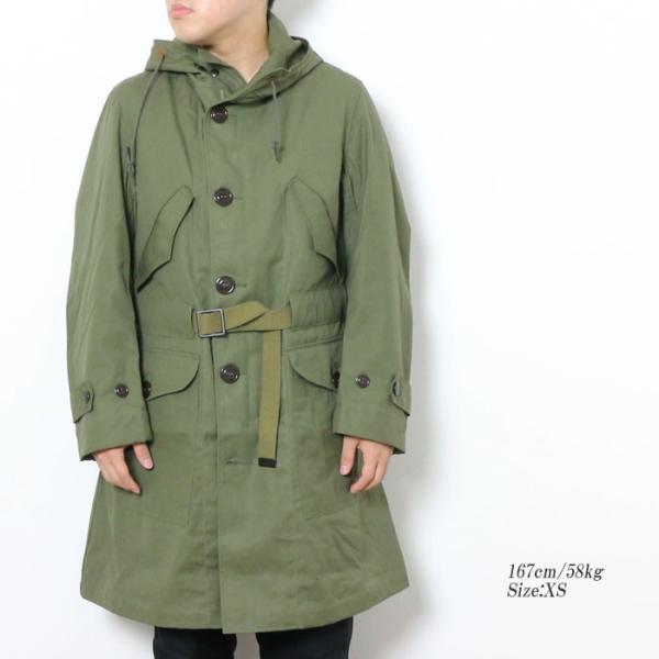 BUZZ RICKSON'S(バズリクソンズ) オーバーコート M-47 BR14197|hinoya-ameyoko|02