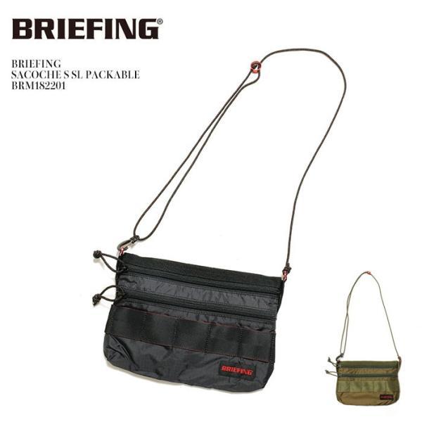 BRIEFING(ブリーフィング) サコッシュS  SL パッカブル BRM182201|hinoya-ameyoko
