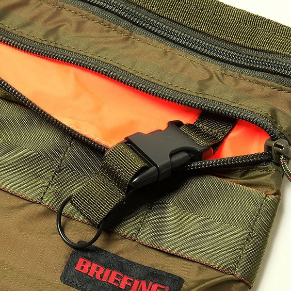 BRIEFING(ブリーフィング) サコッシュS  SL パッカブル BRM182201|hinoya-ameyoko|08