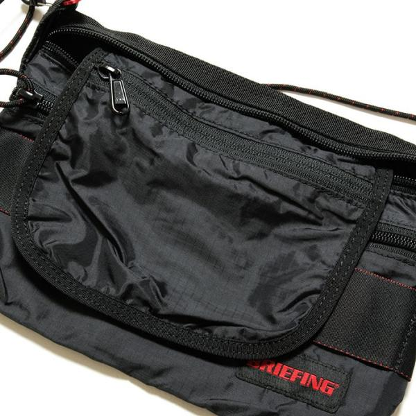 BRIEFING(ブリーフィング) サコッシュS  SL パッカブル BRM182201|hinoya-ameyoko|09