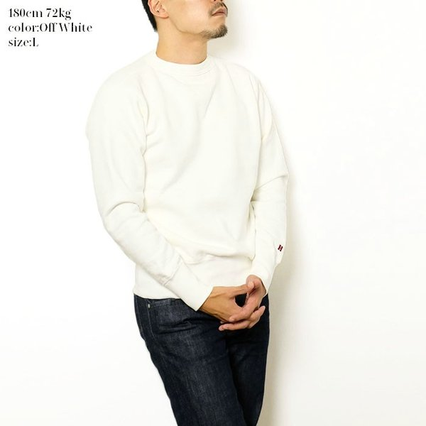 HINOYA (ヒノヤ) セットイン クルーネック  スウェット H-0088 hinoya-ameyoko 07