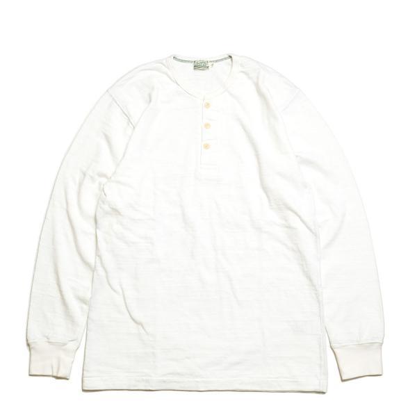 BURGUS PLUS(バーガスプラス) ロングスリーブ ヘンリーネックT HBP-010|hinoya-ameyoko|02