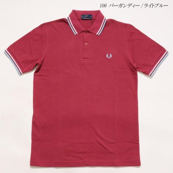 FRED PERRY (フレッドペリー) M12N ツイン ティップ フレッドペリー シャツ M12N-19|hinoya-ameyoko|05