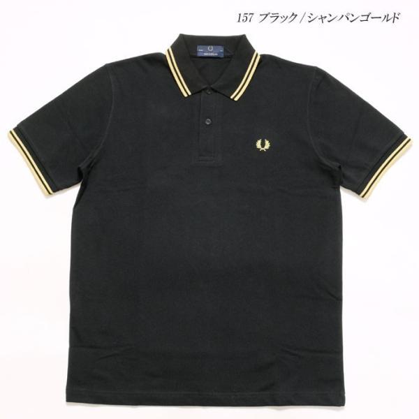 FRED PERRY (フレッドペリー) M12N ツイン ティップ フレッドペリー シャツ M12N-19|hinoya-ameyoko|08
