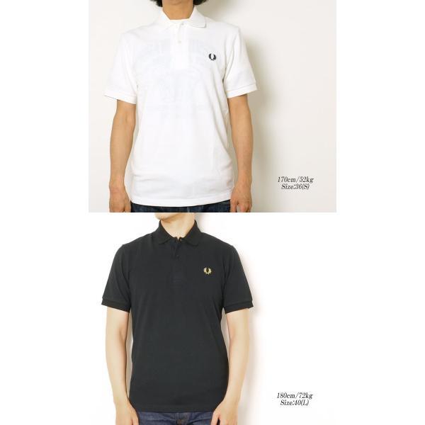 FRED PERRY (フレッドペリー) M3N ザ オリジナル ワンカラー フレッドペリー シャツ M3N-19|hinoya-ameyoko|03