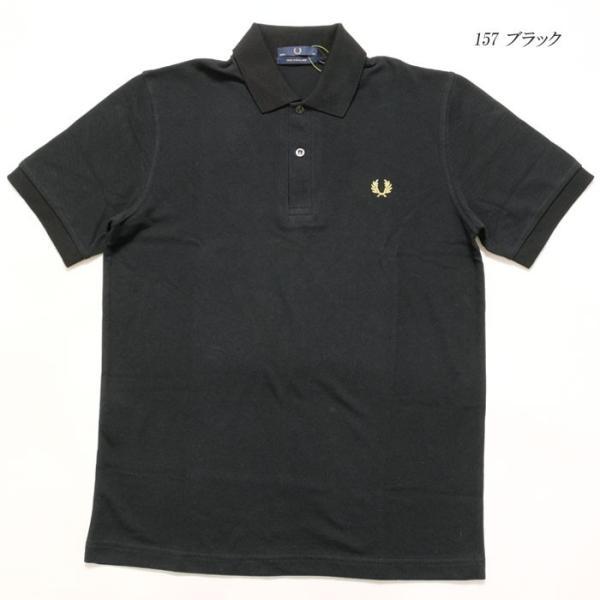 FRED PERRY (フレッドペリー) M3N ザ オリジナル ワンカラー フレッドペリー シャツ M3N-19|hinoya-ameyoko|05