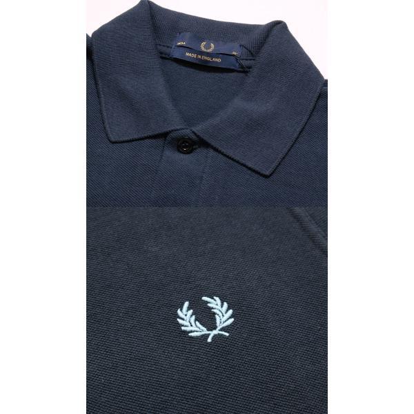 FRED PERRY (フレッドペリー) M3N ザ オリジナル ワンカラー フレッドペリー シャツ M3N-19|hinoya-ameyoko|07