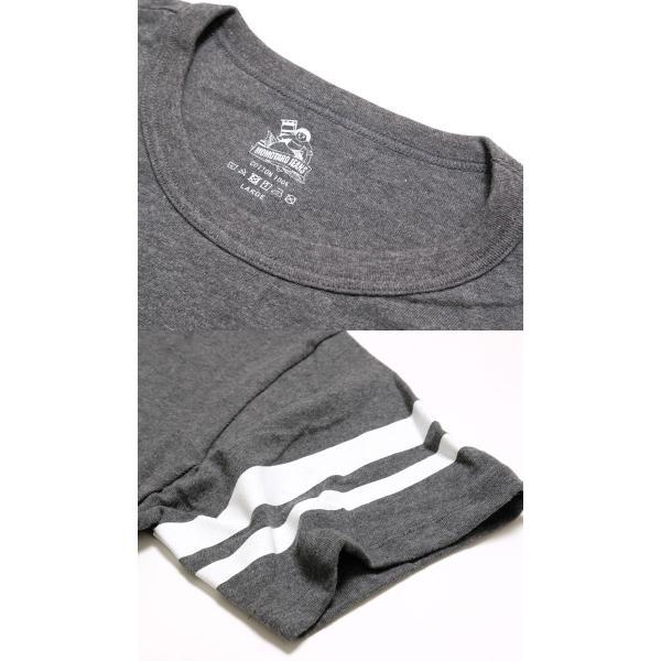 MOMOTARO JEANS 桃太郎ジーンズ 5.2オンス ジンバブエコットン Tシャツ MT301|hinoya-ameyoko|03