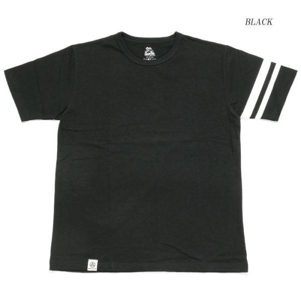 MOMOTARO JEANS (桃太郎ジーンズ)  Lot.MT302 8.2オンス ジンバブエコットン Tシャツ MT302 hinoya-ameyoko 04