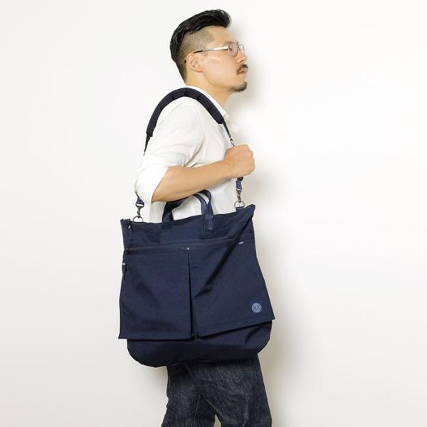 Porter Classic × muatsu  (ポータークラシック × ムアツ) ニュートン ヘルメットケース L PC-050-953 hinoya-ameyoko 11