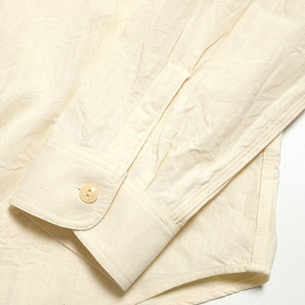 SUGARCANE(シュガーケーン) ホワイト シャンブレー 長袖ワークシャツ SC27851|hinoya-ameyoko|08