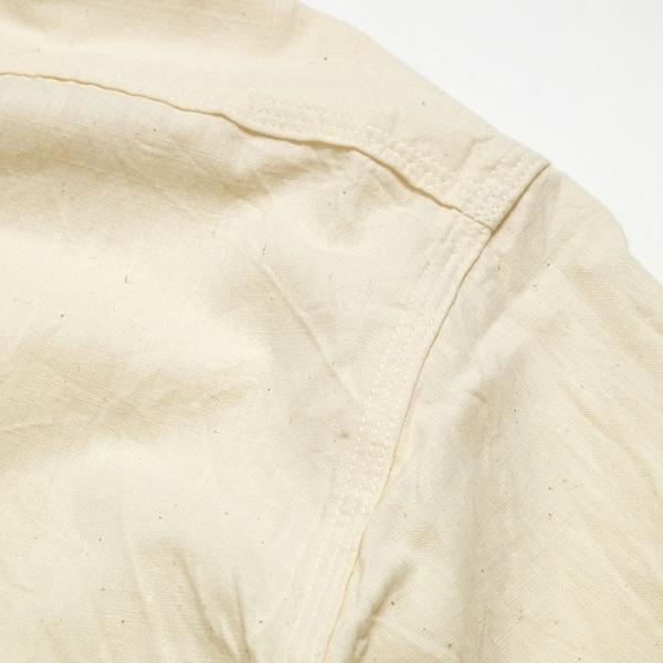 SUGARCANE(シュガーケーン) ホワイト シャンブレー 長袖ワークシャツ SC27851|hinoya-ameyoko|09
