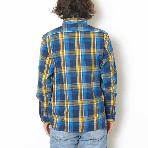 SUGARCANE(シュガーケーン) ツイルチェック 長袖ワークシャツ SC28238|hinoya-ameyoko|03