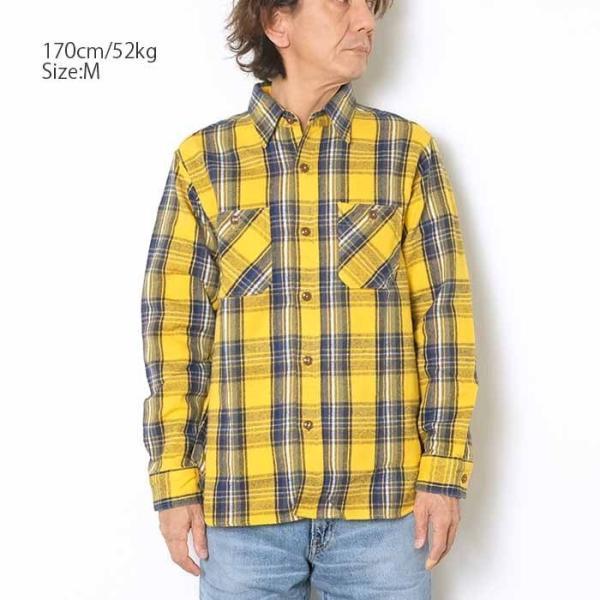 SUGARCANE(シュガーケーン) ツイルチェック 長袖ワークシャツ SC28238|hinoya-ameyoko|05