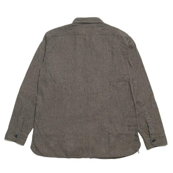 SUGARCANE(シュガーケーン) フィクションロマンス 6.5オンス インディゴ ビーチクロス ワークシャツ SC28283|hinoya-ameyoko|06