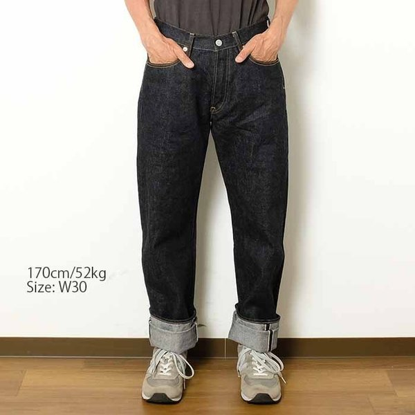 STUDIO D'ARTISAN (ステュディオ・ダ・ルチザン) 15oz セルビッジデニム レギュラーストレート SD-101|hinoya-ameyoko|02